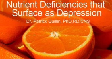 Getting Healthier Nutritional Deficiences that Surface as Depression