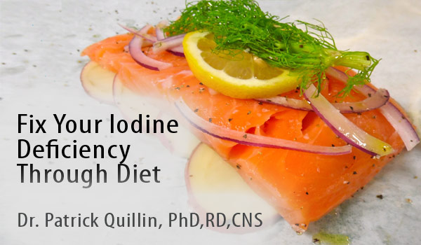 Getting Healthier Iodine Deficiency