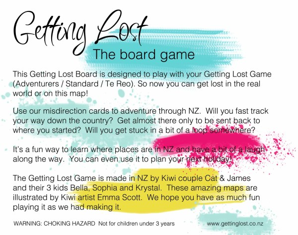 Getting Lost Board Game