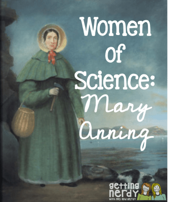 Mary Anning Getting Nerdy
