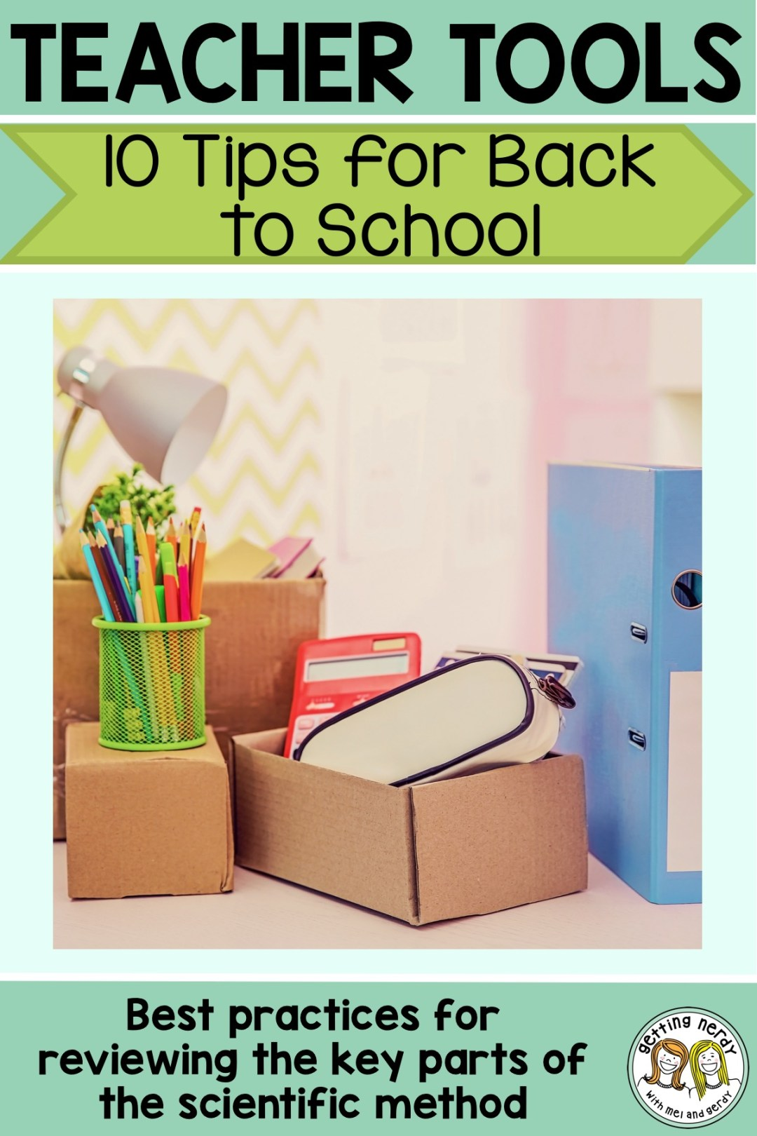 Check out our tips for a smooth transition back to school #gettingnerdyscience #backtoschool