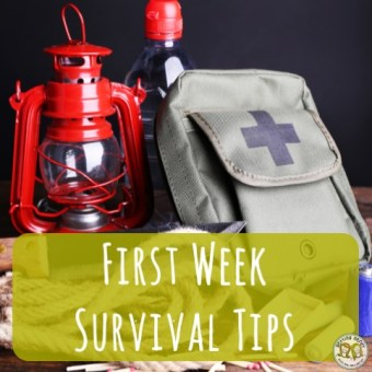 Teacher Tools: First Week of School Survival Tips