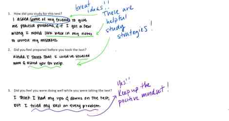 Making the Most of Student Reflections Getting Smart