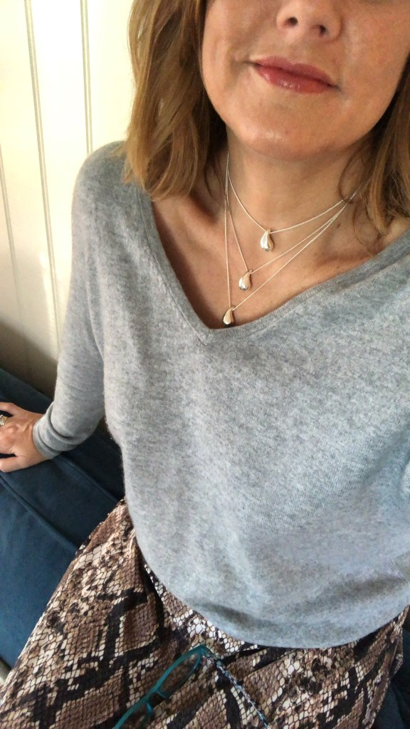 The Story Behind your Little Drop Of Strength necklace