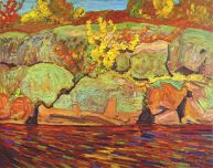 JEH McDonald - Autumn Colour Rock and Maple