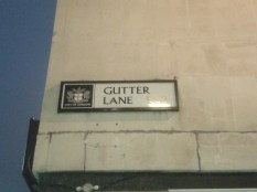Greenwich - Gutter Lane