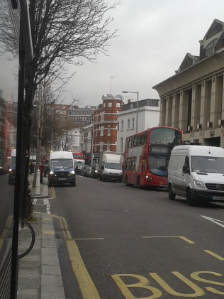 Kings Road - traffic
