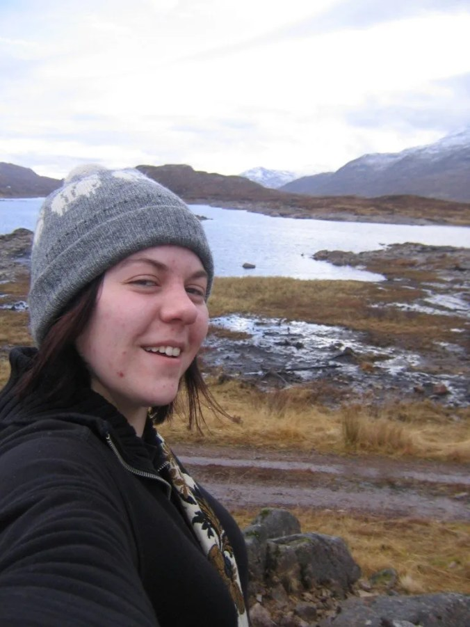 Me in the highlands