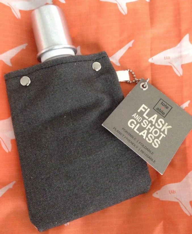Tote and Able flask