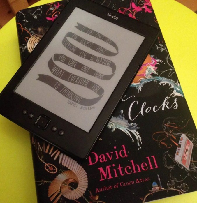 Kindle and David Mitchell's The Bone Clocks