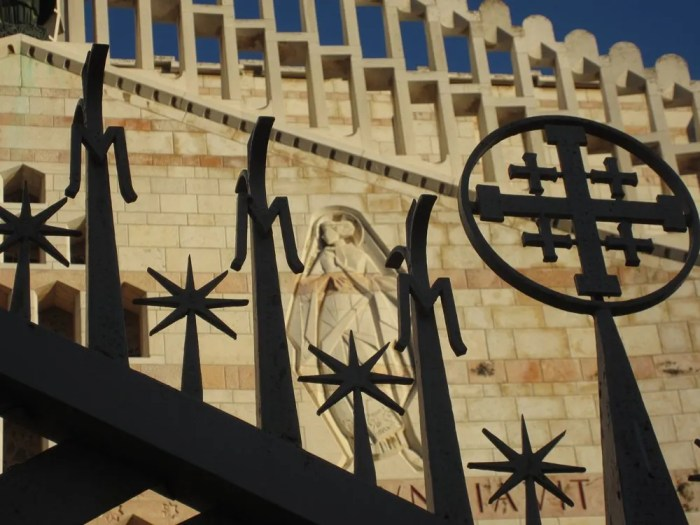 Church of the Annunciation, Nazareth, 2014