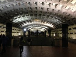The DC Metro. My favourite underground.