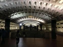 The DC Metro. My favourite underground.
