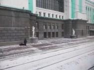 Novosibirsk looking a bit bleak