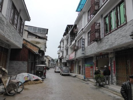 Xingping streets