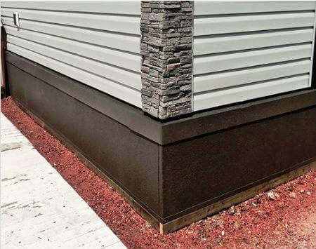 modular stucco skirting