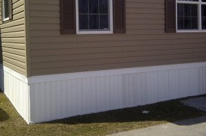 Modular Home Vinyl Skirting
