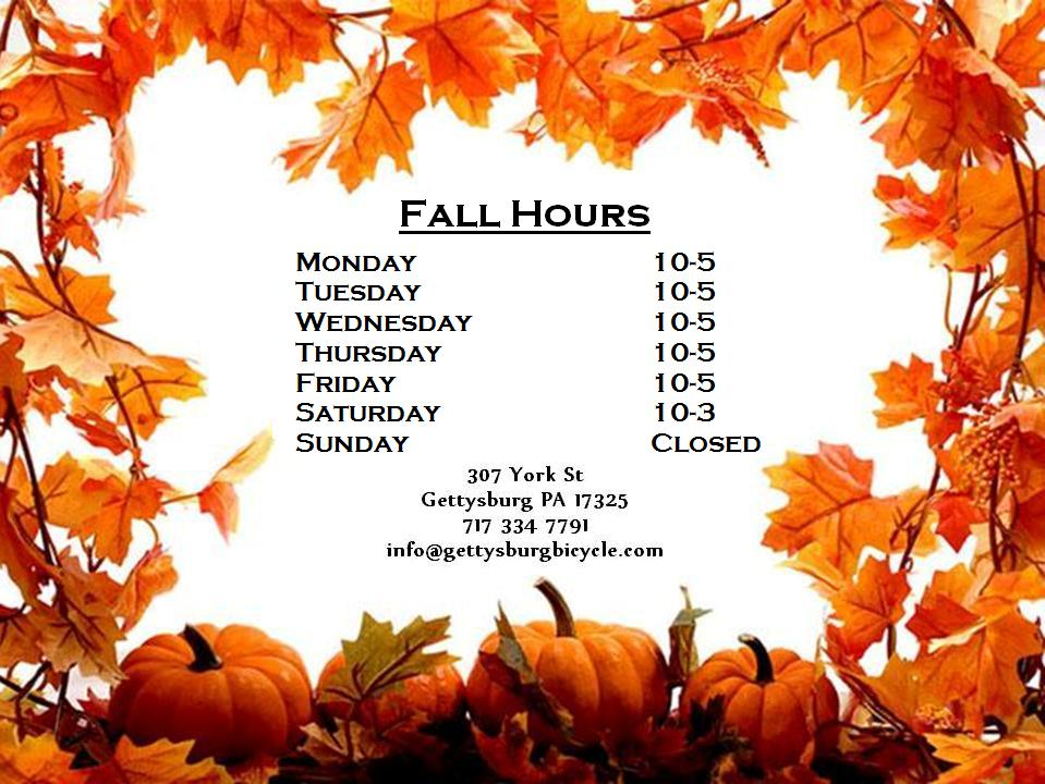 Free Early Fall Wallpaper New Hours Gettysburg Bicycle