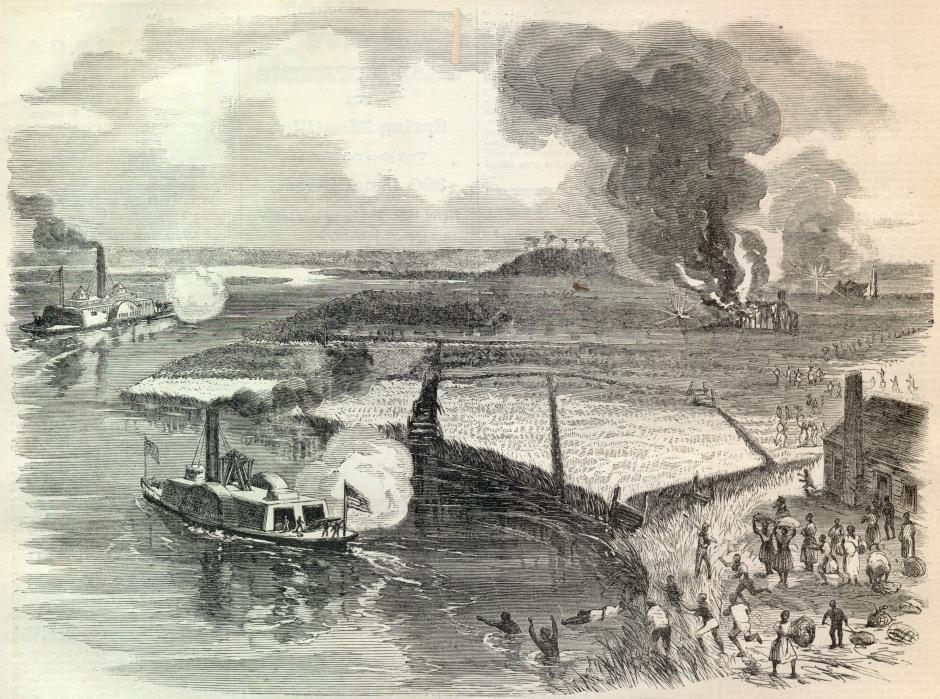 """""""A Woman Named Moses"""" – Harriet Tubman and the Combahee River Raid"""