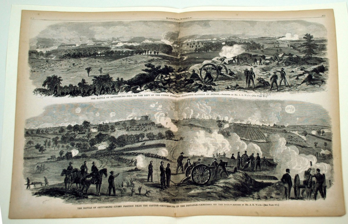 Notation and Memorandum: Special Artists and their Portrayal of the American Civil War