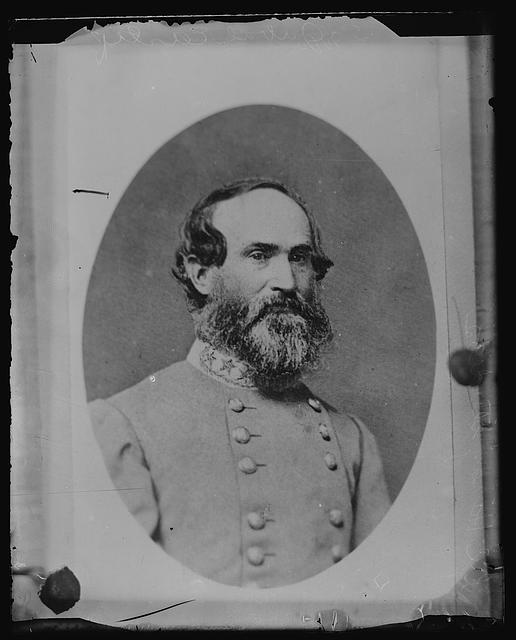 Confederate General Jubal Early. LC-DIG-ds-01484