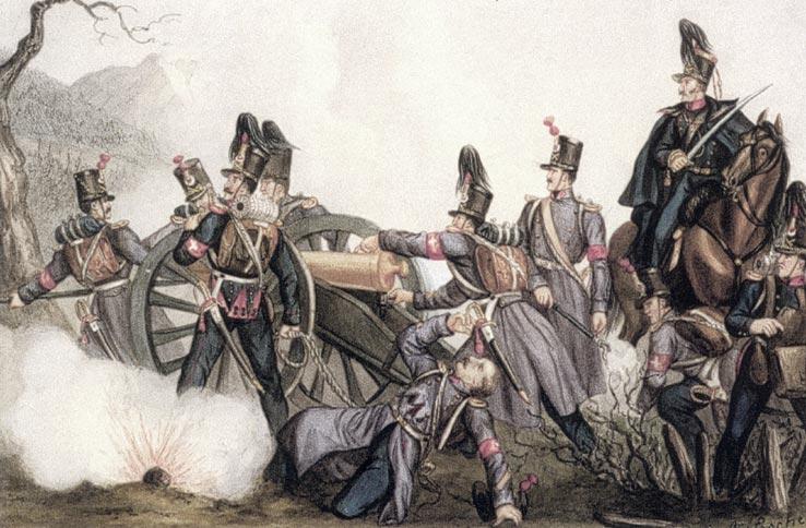 Not Exactly Neutral: Ferdinand Lecomte Observes the Federal Army