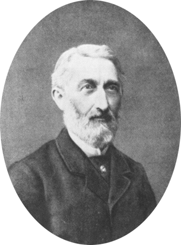 """Charles Girard, towards the end of his life (1891). """"Girard Charles Frédéric (1822-1895),"""" Wikimedia Commons."""