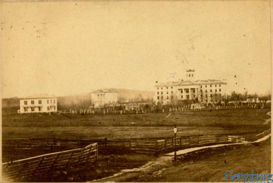 Pennsylvania Hall c. 1860s. Special Collections, Musselman Library, Gettysburg College.