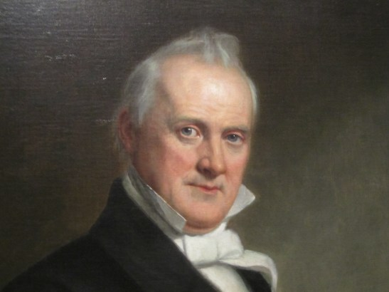 """Portrait of James Buchanan,"" Wikimedia Commons."