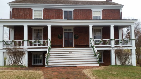 The McLean house in Appomattox Court House, Virginia. Photo credit to the author.