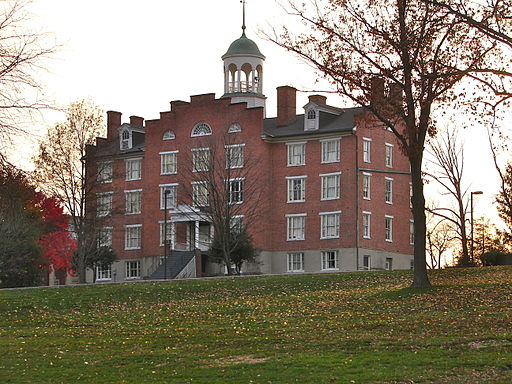 Built in 1832 to house the Lutheran Theological Seminary at Gettysburg, Schmucker Hall served as a field hospital during the Battle of Gettysburg. After years of housing the Adams County Historical Society, it became home to the Seminary Ridge Museum in 2013. Photo courtesy Wikimedia Commons.