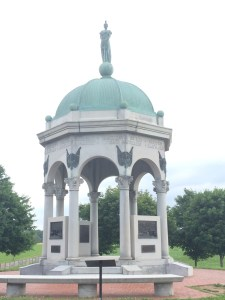 The Maryland Monument at Antietam Battlefield was dedicated in 1900 to demonstrate reconciliation between citizens torn apart by the war. Photo credit Sam Kauker.