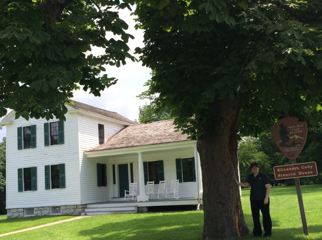 The Elizabeth Cady Stanton property presents a number of preservation and interpretive challenges. The NPS is currently considering launching a landscape restoration project. Photo courtesy Amanda Thibault.