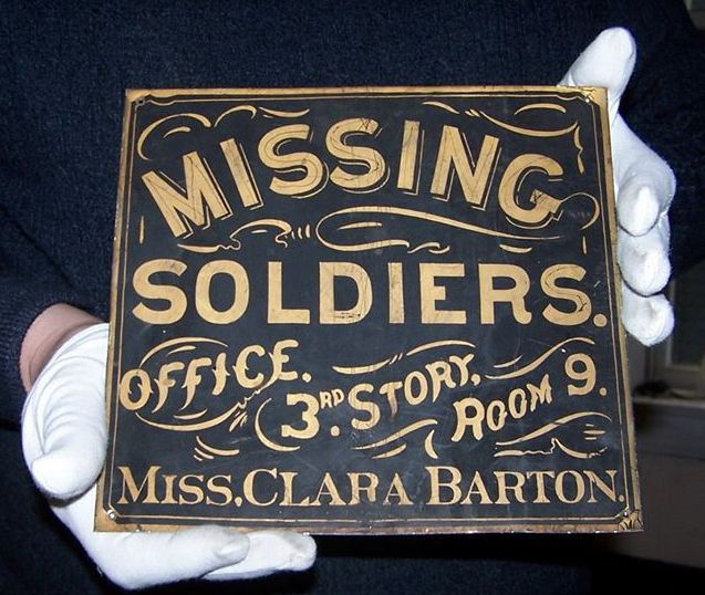 Clara Barton and the Missing Soldiers Office:  A Chat with Amelia Grabowski