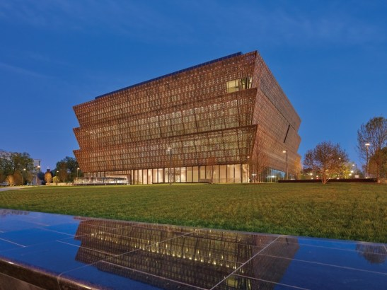 A view of the museum's stunning architecture. Photo credit: Douglas Remley / Smithsonian.