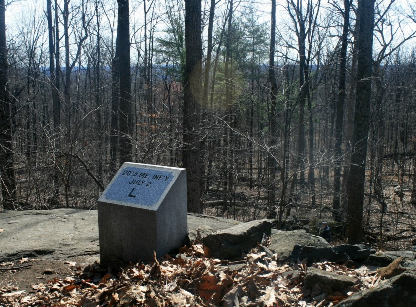 Gettysburg,_Little_Round_Top,_20th_ME_left