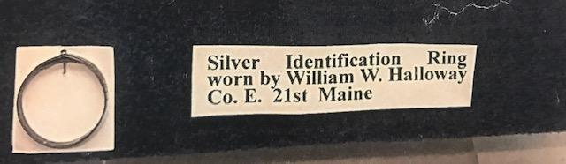 Private William W. Halloway, Co E., 21st Maine