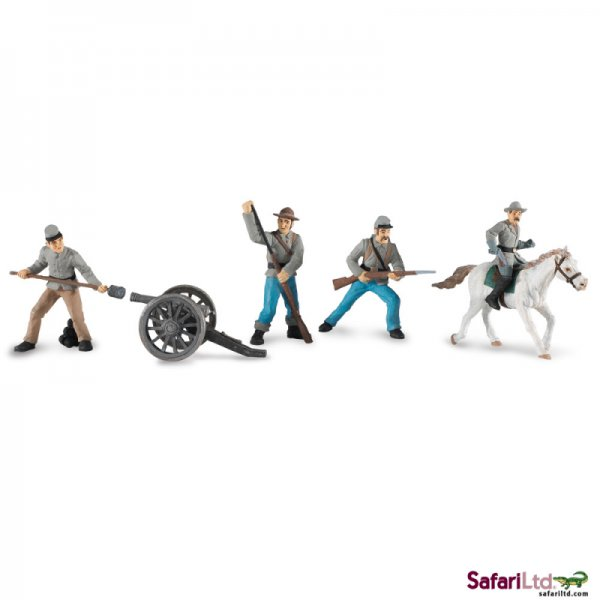 Civil War Confederate TOY Soldiers Collection 2