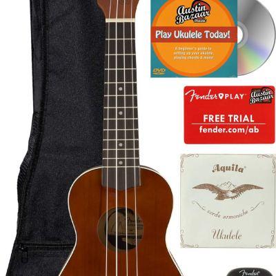 soprano ukulele fender