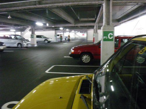 コストコ駐車場