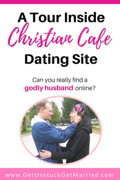 Christian cafe couple Caucasian and Asian