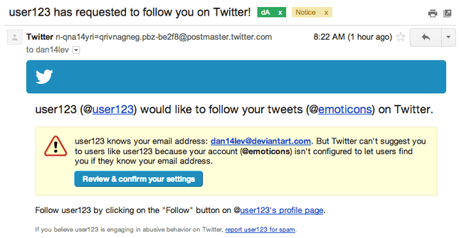 Twitter Fake Follow