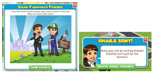 Email Marketing Invite your Friends