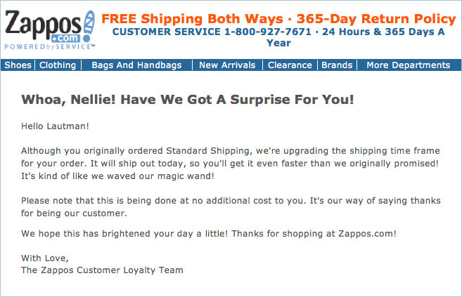 zappos customer acquisition strategy
