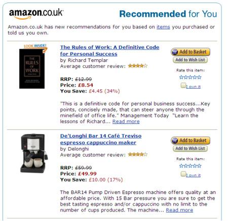 Amazon Segmentation Example