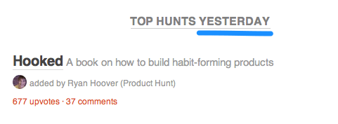 product hunt email 2