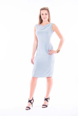 Sleeveless Knee-Length Dress Classic Collection
