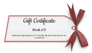 Gift Certificate £75
