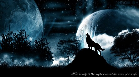 Wolf and Moon Wallpaper 67+ images