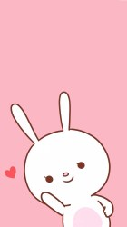 cute wallpapers iphone hd kawaii cartoon pink emoji bunny fondos rabbit pastel hupages pantalla emojis backgrounds marshmallow animals wallpaperaccess food